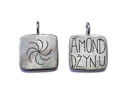 """Двухсторонний кулон """"Amond"""""""