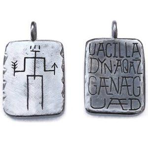 Двухсторонний кулон Uacilla