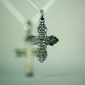 Крест в виде плетения